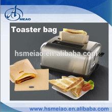 Umweltfreundliches Teflon beschichtetes Gewebe Toasterbeutel