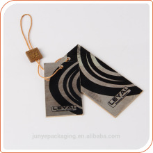Oem swing tickets fashion accessory lables and hang tags for sunglasses