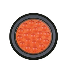 Luz trasera redonda impermeable de 4 pulgadas 12V / 24V