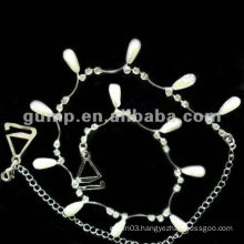metal diamond bra straps ( GBRD0170)
