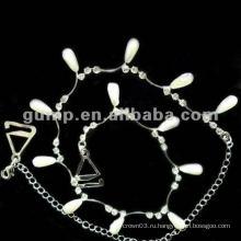 Металлические планки бюстгальтера с бриллиантами (GBRD0170)