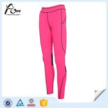 Pantalones al por mayor Señora Compression Pants Sportwear respirable