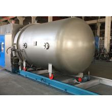 High temperature-pressure textile dyeing jigger machine