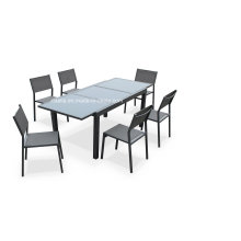 7 Stück Patio Dining Set