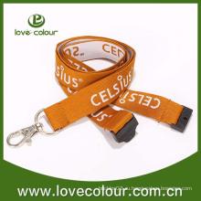 Пользовательский высококачественный тканый шейный ремешок для удостоверения личности