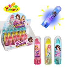 High Quality Natural Color Light Up Lipstick Lollipop