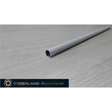 Perfil de tubo inferior redondo de alumínio para cortinas zebra