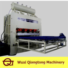 Short-cycle lamination hot press machine/melamine press machine mdf
