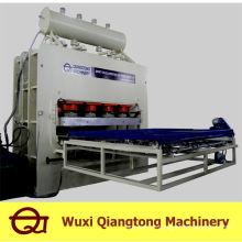 Máquina de pressão quente de laminação de curto prazo / máquina de prensa de melamina mdf