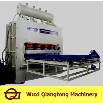 Machine de pressage à chaud à laminage à court terme / machine à la presse à mélamine mdf