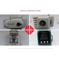 dn40 dn50 dn65 Preis elektrische upvc Wafer Absperrklappe