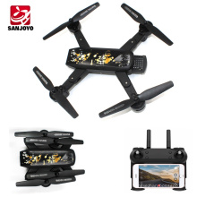 OEM design rc drone following me foldable drone wifi selfie drone with 720P wide angle camera Auto return quadcopter SJY-DM107S