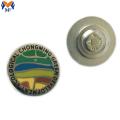 Металлический значок с магнитной булавкой из эмали
