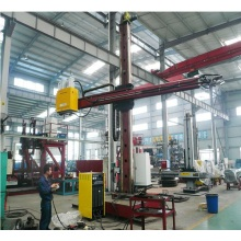Welding Column and Boom dengan Monitor TV