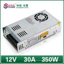 Fonte de Alimentação de Rede de 12VDC 350W