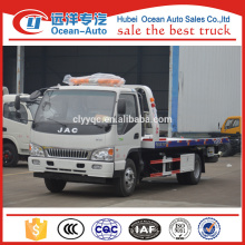 Chinese JAC Recovery Vehicle / Flatbed Recovery Vehicle