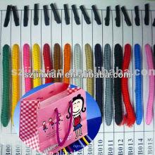 Мешок ручки веревочки с металлическими Барб/веревочки ручки/мешок ручки шнура