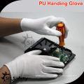 SRSAFETY 13g белый нейлон PU с покрытием PPE рабочая перчатка