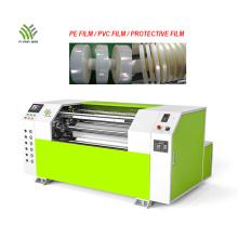 Machine de rebobinage de refendage de film d'enroulement à grande vitesse automatique