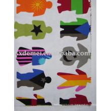 más de quinientos patrones de tela de lona 100% algodón