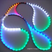 2835 bande lumineuse LED multicolore de 120leds / m 2835 lampe à rayures souple flexible à bas prix