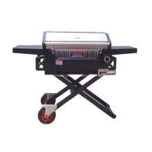 Grelhador a carvão para churrasco dobrável