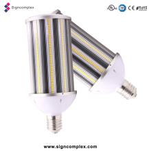 Lâmpada de rua de alumínio do diodo emissor de luz do corpo E40 da lâmpada de 158lm / W, luz de rua do diodo emissor de luz 80W