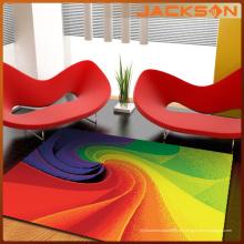 Anti-Rutsch-Polyester-Schlafzimmer-dekorativer Teppich
