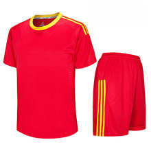 blank football kit soccer training wear