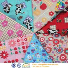Design de tissu personnalisé imprimé pour la robe