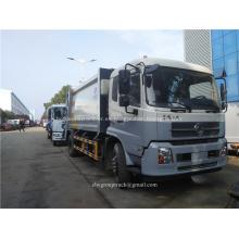 Camión de basura de compresión Dongfeng 12CBM