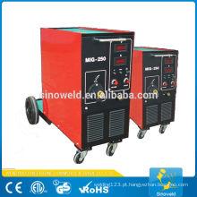 Máquina de soldagem de inversor de migração de alta performance MIG250
