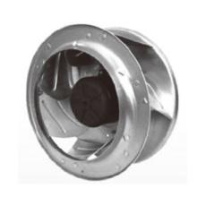 Durchmesser 355X206mm EG Brushless Motor energiesparende Lüfter Ec355206