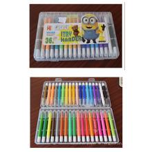36 pcs crayon pour enfants crayon flexible pas cher pastel huile pastel