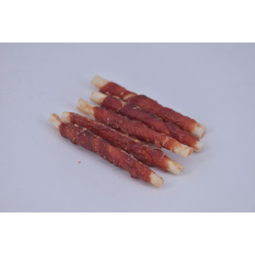 Air-dried Duck Wrapped Rawhide Stick Pet Food