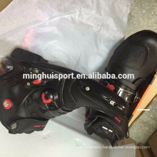 Fashionable Motorcycle ankle boots Motocross auto rubber boots for men