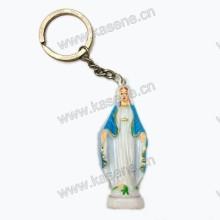 Religiöse leuchtende Statue Keychain, katholisches wunderbares Keychain