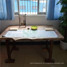 Mesa de jantar de noz preta americana para mobiliário