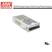 Mean Well 200W Fuente de alimentación de marco abierto (NES-200)