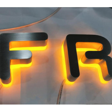 Reverse Halo Lit Channel Letters at Cheap Price