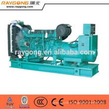 Grupo abierto de generador diesel de 300KW ShangChai 50Hz