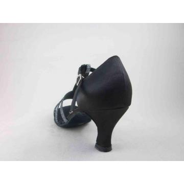 Ladies back satin dance shoes uk