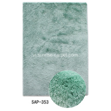 Silk Polyester Thin Yarn Shaggy Rug