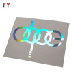 Strong adhesive holographic glossy label stickers