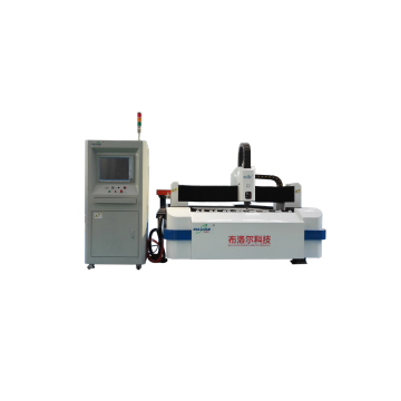 Découpeuse de laser de fibre de commande numérique par ordinateur de feuille pour l'acier en métal