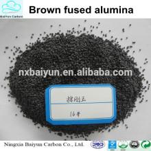 Corindon brun / alumine fondue marron pour abrasif