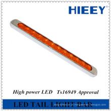 2014 luz de cauda da tira do diodo emissor de luz 12V novo, uso conduzido da lâmpada da cauda para caminhões grandes