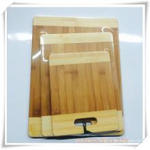 Planche à découper planche à découper en bambou pour cadeaux promotionnels (HA88001)