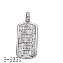 Последние дизайн 925 Серебряный Кулон ювелирных изделий с бриллиантом