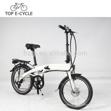 DIY elektrisches Faltrad für Europa 20inch faltbares elektrisches Fahrrad mit versteckter Batterie